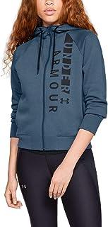 Under Armour Women's Cotton Fleece Wordmark Full Zip