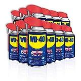 WD-40 Multi-Use Product with Smart Straw Sprays 2 Ways, 8 OZ [12-Pack]