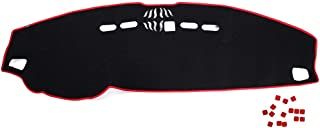 Terisass Dashboard Cover Dashboard Center Console Cover Protector Dashboard Mat Sun Cover Non-slip Pad Dash Mat Avoid Light Cover Instrument Platform Mat Fit for Land Rover LR2 Freelander 2 2007-2016