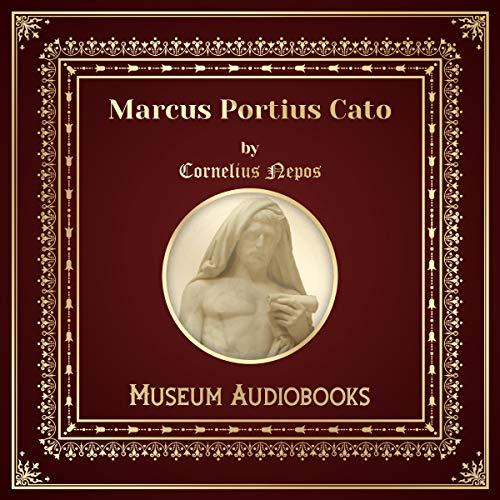 Marcus Portius Cato audiobook cover art