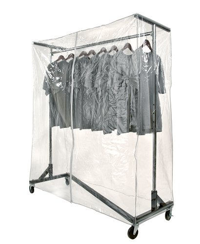 JOMAHMA Commercial Grade Garment Black Base Z-Rack with...