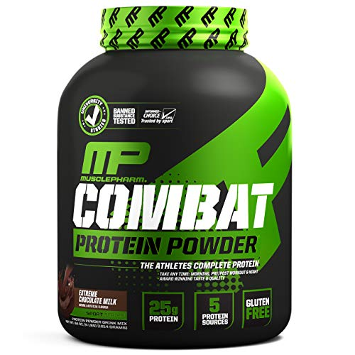 Musclepharm: Combat Powder 1.8kg (4lb) Extreme Chocolate Milk