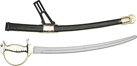 Civil War Saber Swords Halloween Toy Weapons, Handle Color May Vary