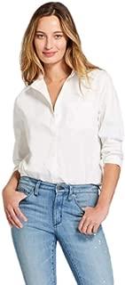 Women's Long Sleeve Alamosa Poplin Shirt, White Medium