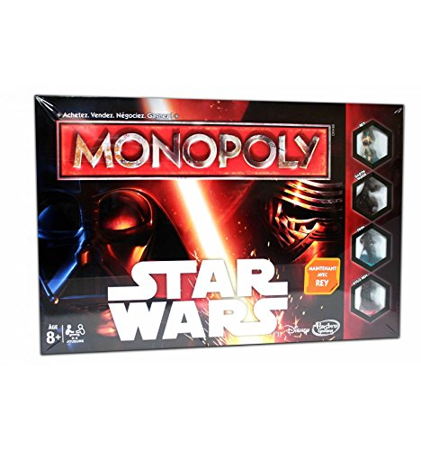 Hasbro - B0324 - Monopoly Star Wars (franzoesische Version)
