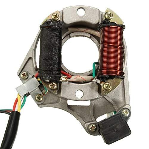50cc 110cc 125cc 2 Coil ATV Quad Stator Ontstekingsspoel Magneto Plaat Chinese Motorfiets onderdelen te koop