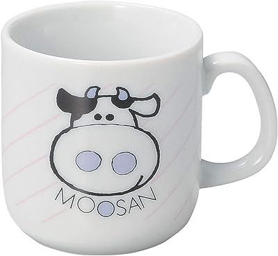 山下工芸 マグカップ 磁器 φ7×7.2cm(200cc) アニマルうしマグ 15055990