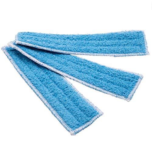 vhbw Wischtuch Set (3-tlg.) Mikrofaser-Pad Fliesen passend für Thomas Multi Clean X10 Parquet Aqua+, X7 Aqua+