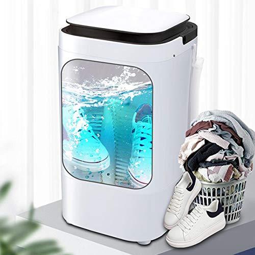 LXJXXJK Draagbare Mini Niet-Automatische Schoen Wasmachine Smart Lazy voor Was Schoenen en Sokken Dual Use Rustig Licht Geluid (Gewicht: 7KG, Grootte: 380 * 380 * 645mm)