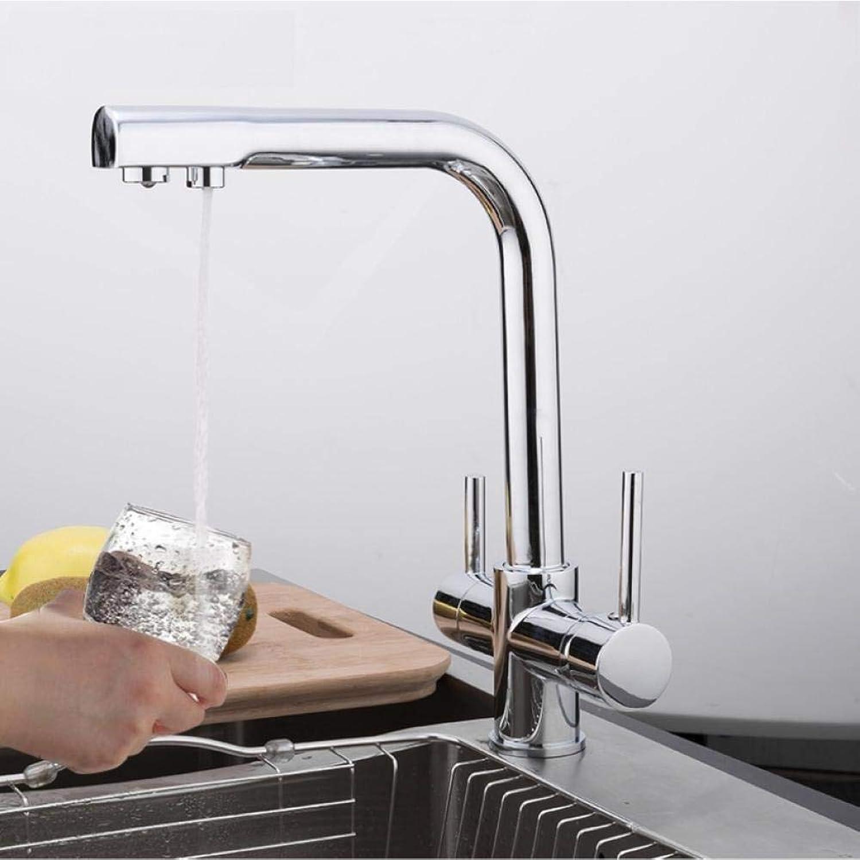 Küchenarmatur Wasserfilter Wasserhahn Spüle Wasserhahn Mischer Kran Küchenarmatur Torneira mit gefiltertem Wasser Messingmischer