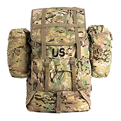 MT Military Molle II Large Rucksack Assembly(OCP) Army Tactical Backpack Multicam