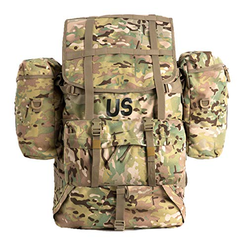 MT US Military Molle II Large Rucksack Assembly(OCP) Army Tactical Backpack Multicam