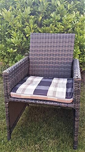 1 siège de jardin/chaise/709–6 Dubaï Coussin pour banc 100% Dralon