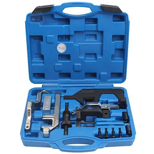 CCLIFE Motor Einstellwerkzeug Arretierwerkzeug Steuerzeiten Werkzeug Kompatibel mit BMW Mini Citroen Peugeot 1.4 1.6 16V N12 N13 N14 N18