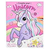 Depesche 10534 - Libro da colorare Create Your Unicorn, Ylvi e Minimoomis, Multicolore...