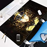 ROZEIP Tapis de Souris Multifonction Gaming Mousepad XL Grand sous Main Bureau 700x300mm...