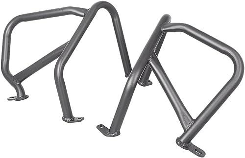 discount Mallofusa Motorcycle Front outlet online sale Engine Guard Crash Bar Protector Compatible for BMW R1200R 2015 2021 2016 2017 Black online sale