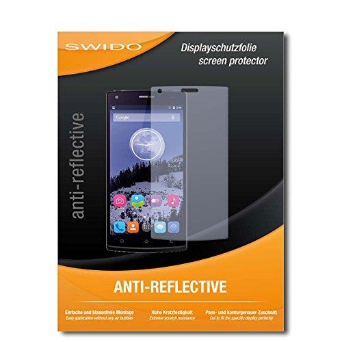 SWIDO Bildschirmschutzfolie für Switel eSmart E2 [3 Stück] Anti-Reflex MATT Entspiegelnd, Extrem Kratzfest, Schutz vor Kratzer/Bildschirmschutz, Schutzfolie, Panzerfolie