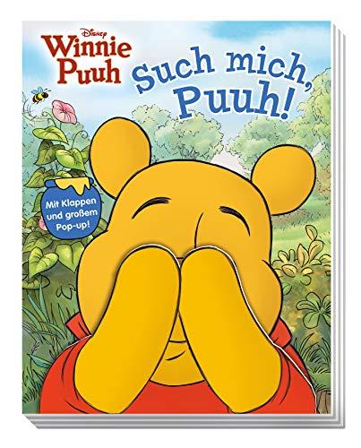Disney Winnie Puuh: Such mich, Puuh!: Pappbilderbuch mit Klappen und einem großen Pop-up!