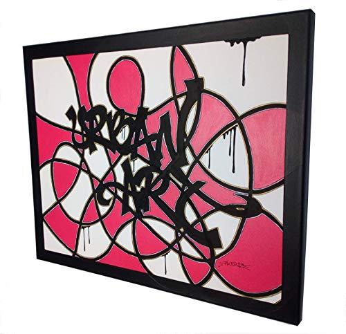 Leinwand - Malerei Canvas Street-Art Graffiti URBAN ART - 50x61cm- Artist PK29 France