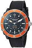 Alpina Horological Smart- Reloj deportivo de cuarzo, acero inoxidable y goma, color negro (modelo: AL-282LBO4V6)