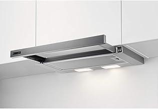 Zanussi ZHP60260SA Flachschirm-Dunstabzugshaube/Abluft oder Umluft / 60cm / Silberfarben/max. 120 m³/h/min. 68 – max. 72 dBA