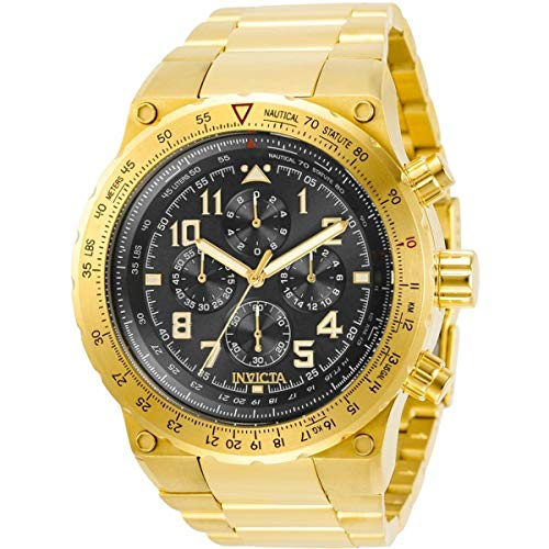 Invicta Aviator Chronograph Quartz Black Dial Men's Watch 31560