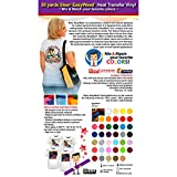 GERCUTTER Store - 30 Yards Siser EasyWeed Heat Transfer Vinyl (Mix & Match 2 Yards Per Color Minimum)