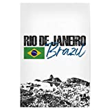 artboxONE Poster 45x30 cm Städte Rio de Janeiro I - Bild