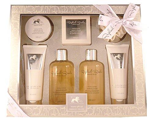 Embassy Deluxe No. 180, Jojoba & Mandel, Beauty & Wellness Geschenkset, (7-teilig) von Raphael Rosalee Cosmetics