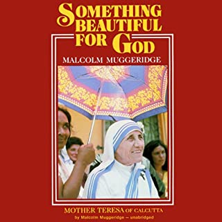 Something Beautiful for God audiobook cover art