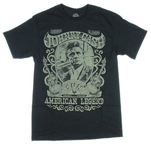 Johnny Cash American Legend Licensed Graphic T-Shirt