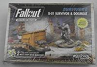 Fallout: Wasteland Warfare - X01 Survivor & Dogmeat (Fallout Minis)