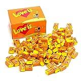 Chicle Love Is (naranja-piña)