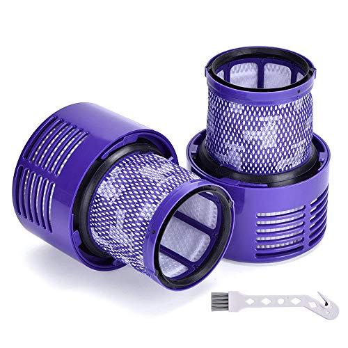 Waschbar Filter Einheit für Dyson V10 Cyclone Serie, für Dyson V10. SV12 Cyclone Animal Absolute Total Reinigung Staubsauger Ersatzteile # DY-969082-01 2er-Pack