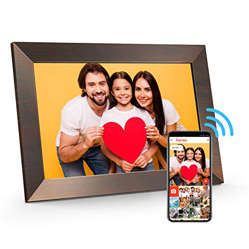 MARVUE Digital Picture Frame WiFi(10.1-inch, 16GB), Smart Autoplay Electronic Photo Frame with IPS Touch Screen, Support…