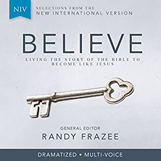 Believe, NIV cover art