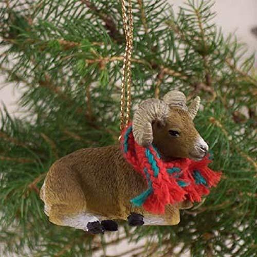 1 X Big Horn Sheep Ornament