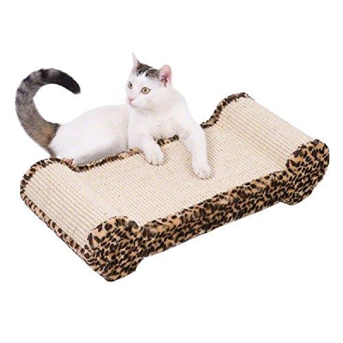 arañazos Pad posar área alfombra de sisal grande gato Dormir Afilado