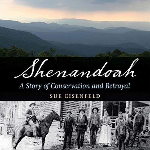『Shenandoah: A Story of Conservation and Betrayal』のカバーアート