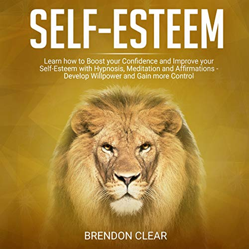 Self-Esteem: Learn How to Boost Your Confidence and Improve Your Self-Esteem with Hypnosis, Meditation and Affirmations - Develop Willpower and Gain More Control cover art