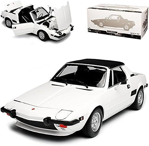 Minichamps FIAT X1 9 Coupe Weißs 1972-1988 limitiert 1 von 504 Stück 1 18 Modell Auto mit individiuellem Wunschkennzeichen