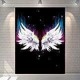 Tapiz para colgar en la pared, decoración para el dormitorio, decoración del hogar, alas de pared, tela de fondo