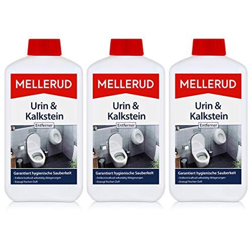 3x Mellerud Urin und Kalkstein Entferner 1L