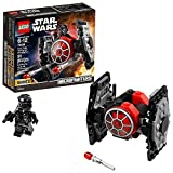 LEGO Star Wars: The Force Awakens First Order TIE Fighter Microfighter 75194 Building Kit (91 Piece) (Discontinued by Manufacturer)