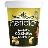 Meridian Smooth Cashew Butter - 100% Nuts 454g