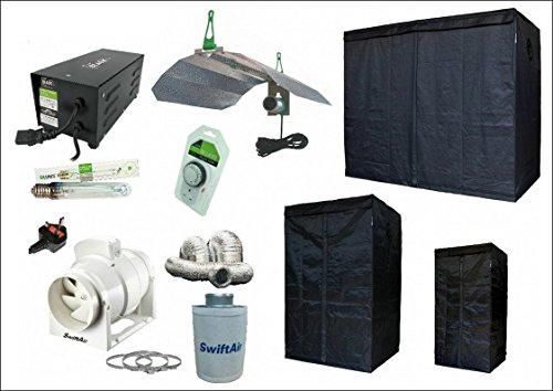LUMii Light Kit Sunblaster LIGHTHOUSE Grow Tent & Fan kit review