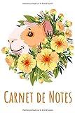 Carnet de Notes: Cahier de 100 pages lignées, format A5   Un cadeau idéal pour les amoureux des Hamsters et Cochons d'Inde.