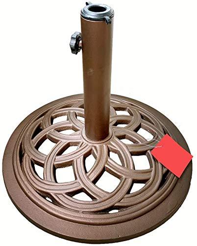 Lloow Cast Iron Umbrella Basis, Basis für Regenschirm Gartenmöbel resistent 11 kg Basis für Regenschirme Spalte für Spalte Regenschirm Regenschirm