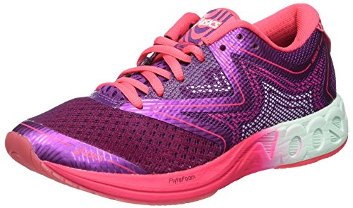 Asics Gel-Noosa FF, Zapatillas de Running para Mujer, Morado (Prune/Glacier Sea/Rouge Red), 38 EU